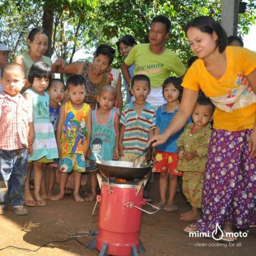 21 - Mimi Moto Clean Gasifier cookstove tier 4 Myanmar WVI clean cooking